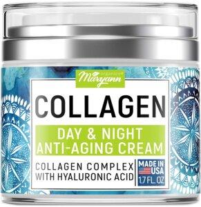 MARYANN Organics Collagen Cream - Best For Anti Aging Face