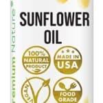 Premium Nature Sunflower Cold Pressed massage oil